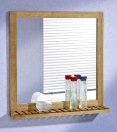 Die 8 Besten Bilder Von Holzspiegel Mirror With Shelf Colors Und