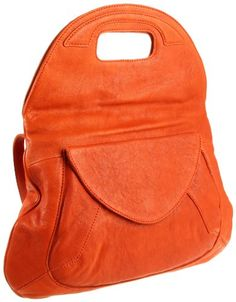 $243.88-$268.00 HOBO INTERNATIONAL Solvang Clutch,Terra Cotta,One Size - You're sure to appreciate the versatility of the Hobo International Solvang shoulder bag. Crafted of top grain Sonoma Italian leather for a supple feel, this women's hobo bag takes on an even richer patina with age. The foldover top features a magnetic snap closure and cutout handles. The front flap pocket is spacious enough  ...