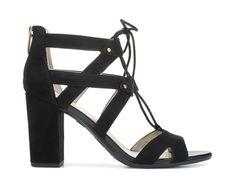 57378ed9e8af Circus by Sam Edelman Emilia Lace Up Dress Sandal Black Lace Up Sandals