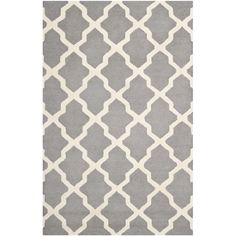 Safavieh Handmade Moroccan Cambridge Silver Wool Rug - Overstock™ Shopping - Great Deals on Safavieh 7x9 - 10x14 Rugs