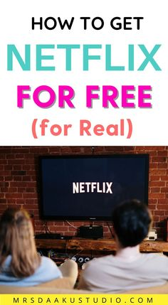 Do you want to watch your favourite shows & movies on Netflix for FREE. But how? We have found some easy (and legal) ways for you to be able to watch your favorite shows on Netflix for free. Check it out. Free Money Now, Earn More Money, Make Money Fast, Make Money Online, Get Netflix, Netflix Free, Shows On Netflix, Apps That Pay You, Making Extra Cash