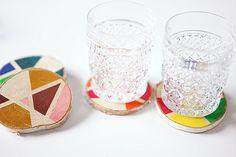 Diy Blog, Wine Glass, Tableware, Inspiration, Ideas, Wood Rounds, Decorations, Biblical Inspiration, Dinnerware
