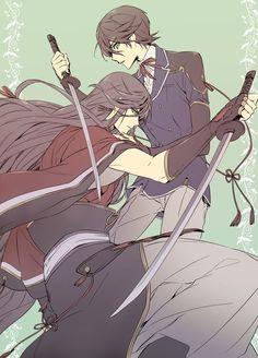 埋め込み Touken Ranbu, Anime Krieger, Mutsunokami Yoshiyuki, Manga Hair, Female Knight, Rogues, Anime Couples, Cute Guys, Anime Guys
