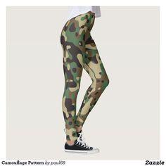 Camouflage Pattern Leggings