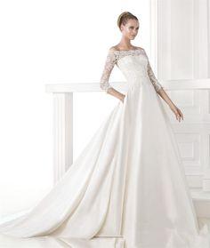 Sweetheart Lace Mermaid Ivory White Wedding Dress