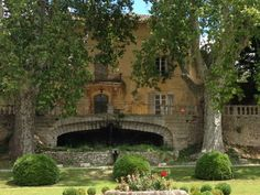 """View of """"Château la Siroque"""" from """"A Good Year"""""""