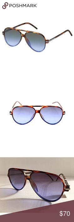 d194826d7708 Marc Jacobs Blue Havanna Aviator sunglasses unisex Marc Jacobs Blue Havanna  Aviator sunglasses, never worn