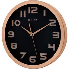 Bulova Revere Wall Clock - Wall Clocks at Hayneedle