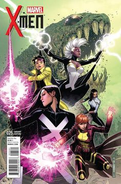 X-Men #25 variant cover by Jim Cheung *