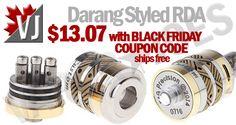 GORGEOUS! – Darang Styled RDA – Hybrid/510 Threads – $13.07