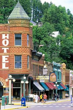 Legendary Deadwood, South Dakota  My one day dream to go to STURGIS.