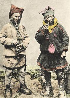 Sami men Northern Norway. 1870 - 1910 by saamiblog, via Flickr
