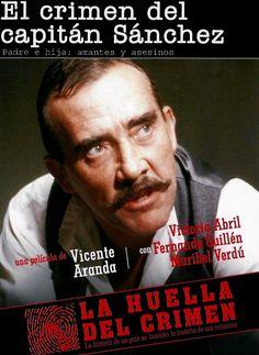 """Segundo episodio de la serie temática """"La huella del crimen"""" para TVE. Protagonizada por Fernando Guillén, Maribel Verdú, Victoria Abril y Jorge Sanz 1985"""