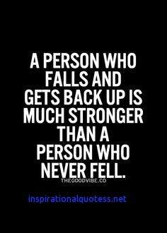 Inspirational Quotes About Falling And Getting Back Up Quotes