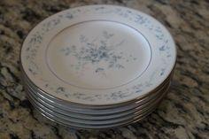 Noritake Contemporary Carolyn  Bread & Butter Plates Set of 6 2693 #Noritake