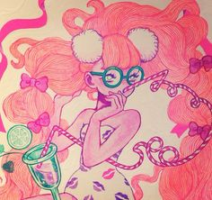 #eimi Girl Cartoon, Cute Drawings, Cute Art, Art Girl, Eimi, Cute Girls, Disney Characters, Fictional Characters, Artsy