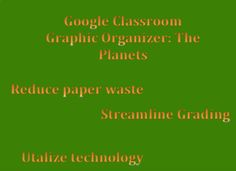 Looking for a great activity for your students to research the planets but also keep their research organized. This graphic organizer is designed to be used in Google Classroom. Simply convert to a Google Doc and add to your Google Classroom. It is completely editable, so feel free to add research elements that meet your needs. **Download my Google Doc and Google Classroom How-To Guide (with step by step images) for more help**
