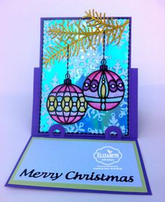 Christmas 2016, Little Christmas, Merry Christmas, Holiday Cards, Christmas Cards, Diamond And Silk, Diy And Crafts, Paper Crafts, Elizabeth Craft Designs