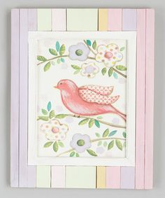 Take a look at this Bird & Branch Framed Wall Art by Renditions by Reesa on #zulily today!