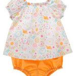 Gymboree NWT By The Seashore Top Bloomer Shorts Outfits 3 6