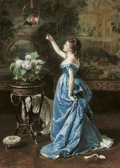 Auguste Toulmouche (1829-1890, France)