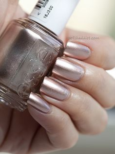 "Essie Mirror Metallics Collection Swatches in ""Penny Talk"""