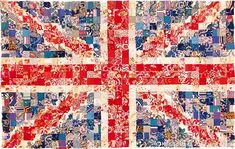 Union Jack quilt - OMG I would die to own this!