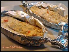 Sweet my Kitchen: Salmão ao vapor com leite de coco