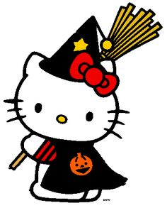 Hello Kitty Halloween - Witch