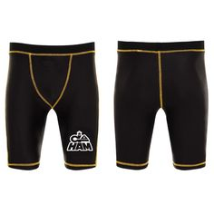 These all new Contender Compression shorts were designed by Go HAM to be worn for grappling competitors of BJJ and MMA. They can be worn on their own or as added protection under shorts or Gi pants. They also make perfect compression wear for the gym  Shop our CONTENDER Series today.  #MMA #fightwear #bjj #grappling #boxing #fight #ko #goham #teamham #gym #kickboxing #muitai #k1 #bfa #cagewarriors #ufc #jujitsu #jordans #urban #huarrache #crossfit #rashguard #compression #fitfam #gohard…