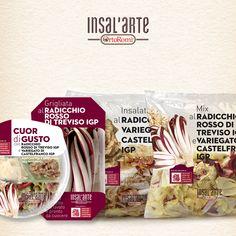 Radicchio Rosso di Treviso IGP e Radicchio Variegato di Castefranco IGP #radicchio #radicchi #insalarte #ortoromi
