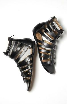 Yes! Short gladiator sandals for spring.