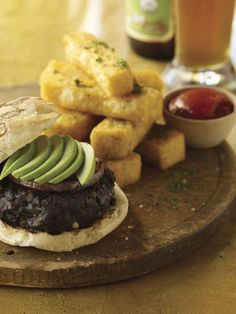 Candle 79 Black Bean Chipotle Vegan Burgers - a healthy recipe from a famous vegan restaurant!