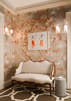 Place order from Chinoiserie Decor of China, enjoy the wallpaper factory price and shipping free. Price begin from USD300 per panel.