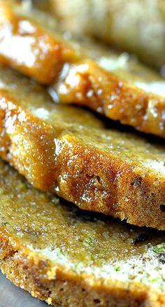 Salted Caramel Zucchini Bread.