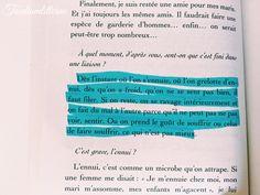 """""""Dès l'instant où l'on s'ennuie, où l'on grelotte d'ennui, dès qu'on a froid, qu'on ne se sent pas bien, il faut filer. Si on reste, on se ravage intérieurement et on fait du mal à l'autre parce qu'il ne peut pas voir, sentir. Ou on prend le goût de souffrir ou celui de faire souffrir, ce qui n'est pas mieux."""" - #Françoise_Sagan"""