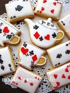 Alice In Wonderland Tea Party cookies!