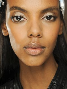 Emilio Pucci S/S '13 makeup: http://beautyeditor.ca/2013/04/03/how-to-the-graphic-white-eyeshadow-at-emilio-pucci-ss-13/