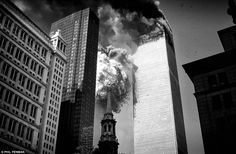 The fear and confusion felt by millions in New York on 9/11 has been captured in these terrifying photos by Phil Penman. But just as frightening and extraordinary is the story behind them.