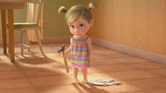 Inside Out - Riley Memorable Moments - English ESL video lesson Disney Inside Out, Inside Out Riley, Inside Out Characters, Baby Disney Characters, Disney Pixar, Disney Memes, Minions Mini Movie, Joy And Sadness, Disney Movies To Watch