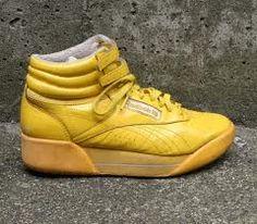I had yellow hi top Reebox in the 80s