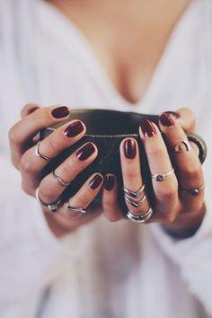 Nails Rings #MACxNastyGal