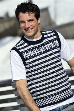 Men Sweater, Vest, Pattern, Sweaters, Fashion, Casual Man, Men, Stapler, Scale Model