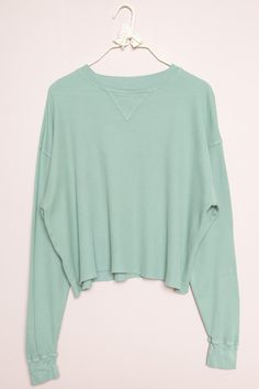 Brandy ♥ Melville |  Laila Thermal Top - Long Sleeves - Tops - Clothing