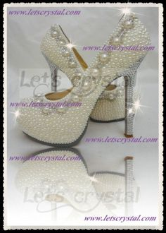 My Wedding Shoe Letsc Crystal Chains Amazing Heels, 60% off | Recycled Bride