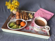 diy mothers day tea tray