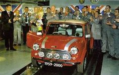 The last Mini comes off the line in October 2000.
