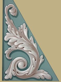 Pierre Finkelstein French Ornament Acanthus Leaf