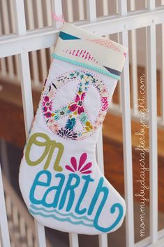 Mommy by day Crafter by night: Pottery Barn Teen Inspired Christmas Stocking
