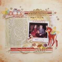 Marie-Pierre: Paperclipping Roundtable | MICRO scrapbooking vs. MACRO scrapbooking  june 2014 lots of inspiration & good info too.
